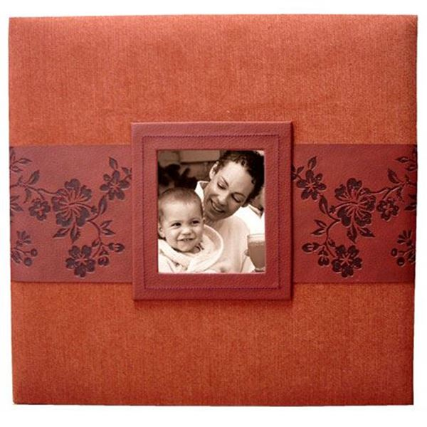 Picture of Red Suede Photo Album